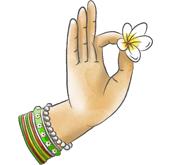 Chin mudra représentant la méditation dans les cours de yoga en ligne de la plateforme : yoga-en-ligne.com